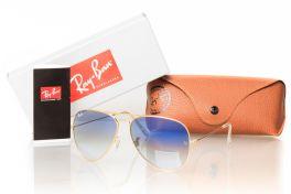 Солнцезащитные очки, Ray Ban Original 3026blue-g