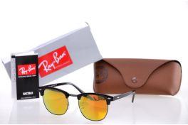Солнцезащитные очки, Ray Ban Clubmaster 3016orange