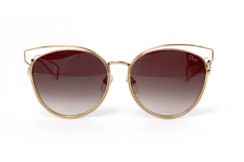 Женские очки Dior cideral2-br-gold-b