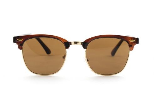 Женские классические очки 3016-brown-W