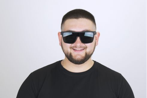 Мужские классические очки 6812